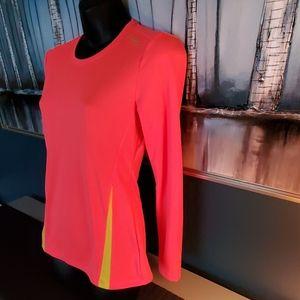 Saucony Tops - Florescent orange/yellow Small Saucony Shirt